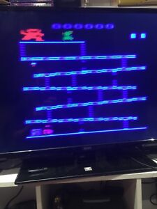 ATARI with VGA MOD 10 games but no power cord included