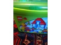 Lego Green box of bricks
