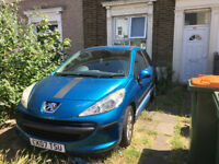 Peugeot 207 2007 1.4 Petrol Sport Long MOT Sony Bluetooth Stereo Cheap Absolute Bargain!!!