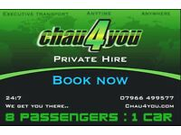 Chau 4 You Executive travel anywhere anytime