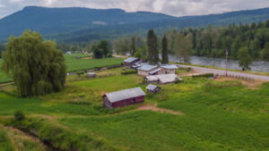 2709 Mabel Lake Road, Enderby - 61 acres with 3 bedroom house!