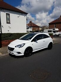 Vauxhall corsa 2015 Limited edition (white)