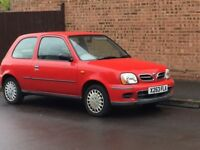 Nissan Micra S with long MOT