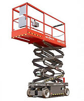 25ft ELECTRIC SCISSOR LIFT FOR RENT FREE DELIVERY