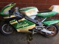 Mini Moto with lots of spares