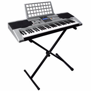 Electronic Music Keyboard Electronic Piano with X Stand