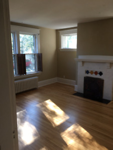 LARGE 1-BDRM FLAT WITH PARKING AND BACKYARD | CLOSE TO DT