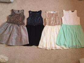 Next & New Look Age 10/11 Party Dresses