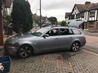 Bmw 525d. Auto breaking for parts