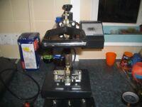 sublimation heatpress printer and extras