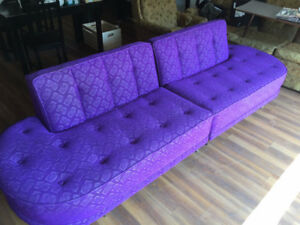 The most Awesome Purple Couches You'll Ever See!!!
