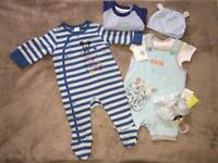 New baby boy clothes 3-6 months