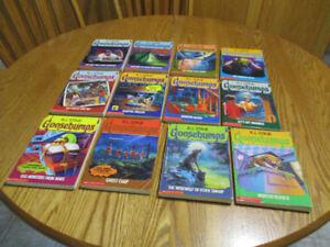 12 Goosebumps Books