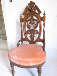Very ornate antique chair