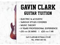 Guitar Lessons in West End!!