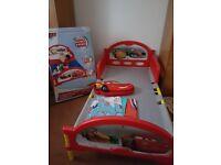 Disney Cars Toddler Bed, duvet set and cushion