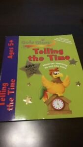 Telling the Time Educational Book Ages 5+