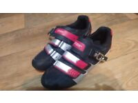 size 210/44 crane sports cycling shoes (not spd) never used
