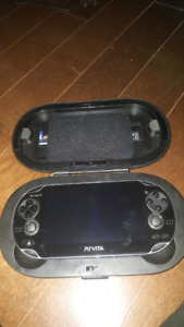 Playstation Vita with accessories