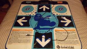 DDR Mario mix with dance pad for Gamecube
