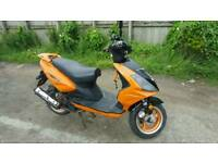 Direct bikes scooter moped 125 cc runs and drives good 12 month mot drive away