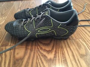 Youth size 7.5 Under Armour cleats- like new!