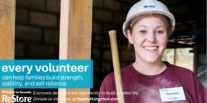 Volunteer Painting Position, Habitat for Humanity ReStore