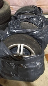Tires with rims all season