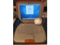 "Rare Chance to Purchase Vintage Clamshell Apple Laptop 300MHz/192Mb.20Gb 12""Screen"
