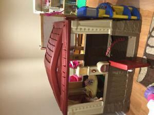 Maison pour enfant step 2