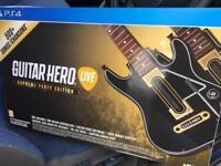 Guitar hero live. Ps4