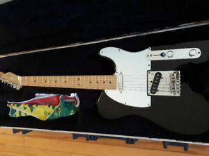 2011 anniversary Telecaster and peavey 112 redstripe