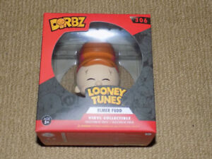 FUNKO, ELMER FUDD, DORBZ, LOONEY TUNES #306, VINYL COLLECTIBLE