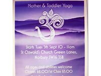 Parent & Toddler Yoga Class