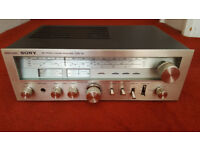 Vintage hi-fi job lot tuner and two receivers
