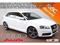 2012 Audi A3 2.0TDI (140ps) Sportback Black Edition-B.TOOTH-XENONS-LED-P. SENSOR