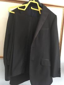 Marks and Spencer Black Suit size 40