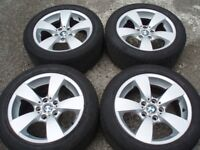 """Genuine set wheels BMW 17"""" 5 7 series e60 e61 e38 Tyres 225/50/17 RunOnFlat Delivery available"""