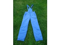 40 R THINSULATE THERMAL INSULATED OVERALL SKI TROUSERS