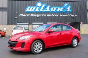 2013 Mazda MAZDA3 GS-SKYACTIV SEDAN! SUNROOF! HEATED SEATS! NEW