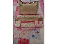 Pretty changing bag from Pink Lining