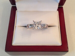 SAVE $8,725 1.03ct, SI2, G, 18k WG Brand New Condition!!