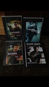 THE BOURNE TRILOGY & BOURNE LEGACY