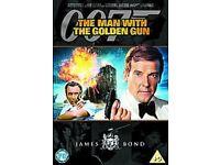 18 James Bond 007 DVDs - Region 1 & 2