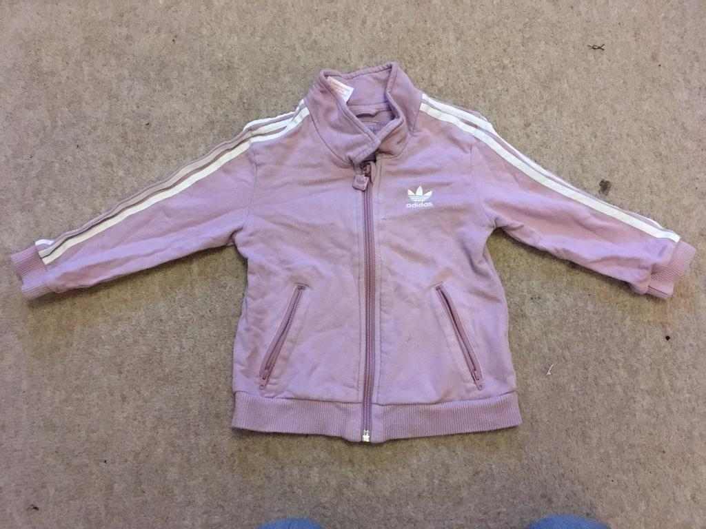 Girls ADIDAS Zipped topin Street, SomersetGumtree - Top in good condition, slight mark to front (see 4th photo).From pet and smoke free home