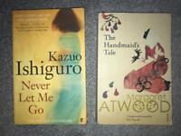 Books: The Handmaids Tale and Never Let Me Go
