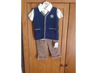 3 piece set age 3-6 months new with tags