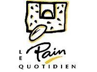 Coffee Barista Le Pain Quotidien Immediate Start Full-Time Permanent Job