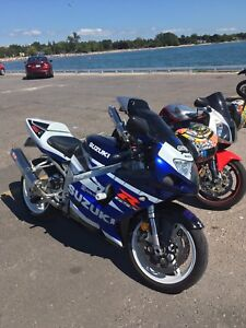 MINT 2003 suzuki GSXR 750 F/S $3900 or TRADE