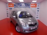 Toyota Yaris TR D-4D (£30.00 ROAD TAX) FREE MOT'S AS LONG AS YOU OWN THE CAR!!!! (silver) 2007